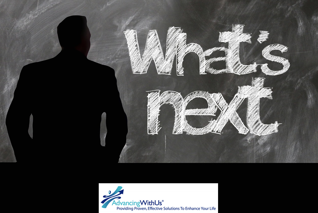 What's next in 2018 with AdvancinWithUs logo